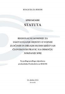 Izmene Statuta SLO