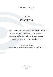 Izmene statuta SR