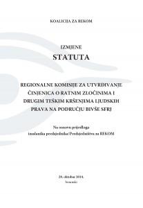 izmjene statuta BH LAT